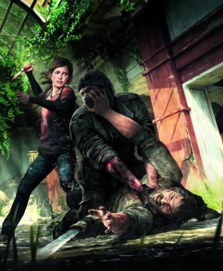 Kostenloses The Last of Us PlayStation 3 Wallpaper für HTC Titan