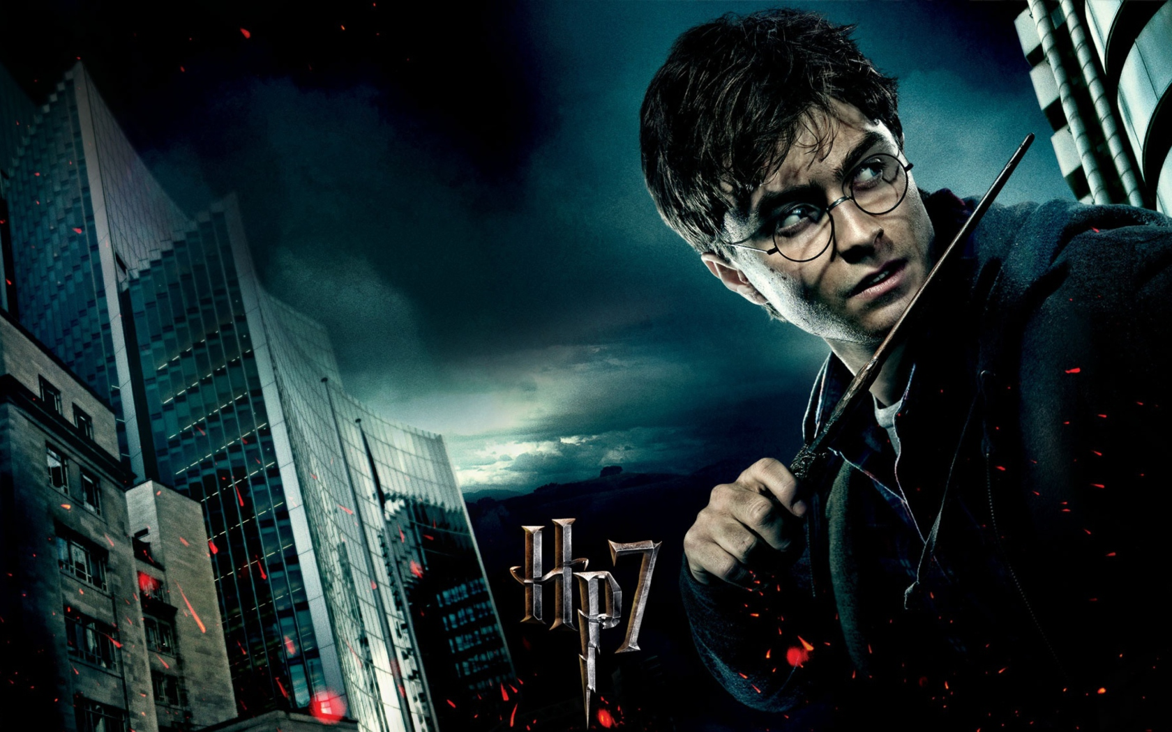 Screenshot №1 pro téma Harry Potter And Deathly Hallows 1680x1050
