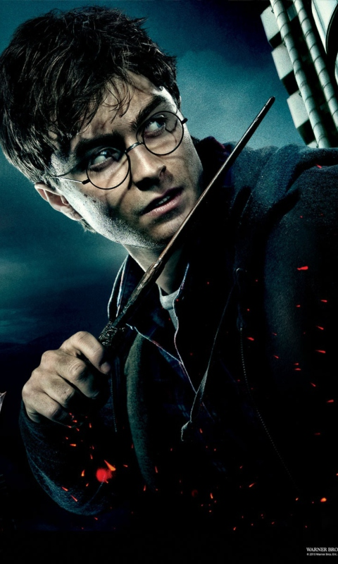 Screenshot №1 pro téma Harry Potter And Deathly Hallows 480x800