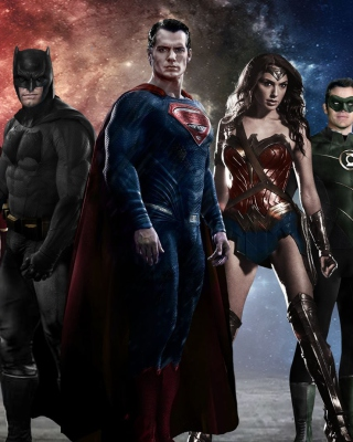 Kostenloses Batman v Superman Dawn of Justice Band Wallpaper für Nokia Asha 308