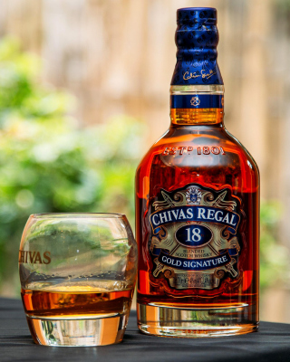 Chivas Regal 18 Year Old Whisky Wallpaper for Nokia C2-05