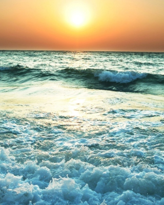 Sunset And Sea Wallpaper for 640x1136
