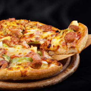 Pizza from Pizza Hut Wallpaper for LG KP105