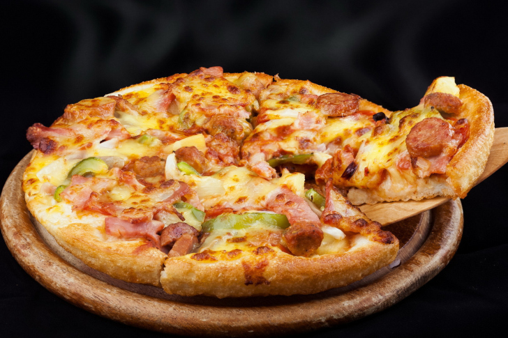 Pizza from Pizza Hut wallpaper