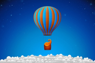 Flying Elephant Wallpaper for Android, iPhone and iPad