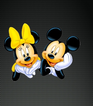 Mickey And Minnie Background for Nokia C5-06