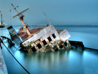 Wreckage Wallpaper for Android, iPhone and iPad