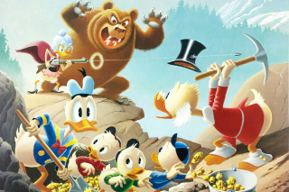 Free DuckTales, Scrooge McDuck, Huey, Dewey, and Louie Picture for Android, iPhone and iPad