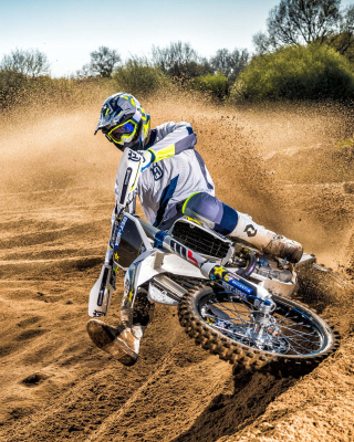 Motocross Rally sfondi gratuiti per iPhone 6 Plus