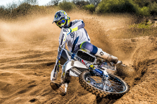 Motocross Rally Background for Samsung I9080 Galaxy Grand