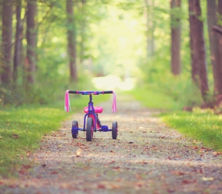 Child's Bicycle sfondi gratuiti per 1024x1024