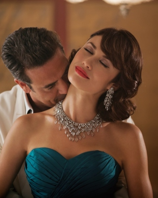 Olga Kurylenko as Vera Evans in Magic City Background for HTC Titan