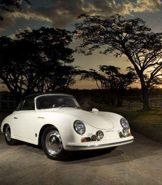 Free Porsche 356 B Cabriolet Retro Class Picture for 480x640