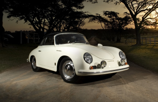 Porsche 356 B Cabriolet Retro Class Wallpaper for Android, iPhone and iPad