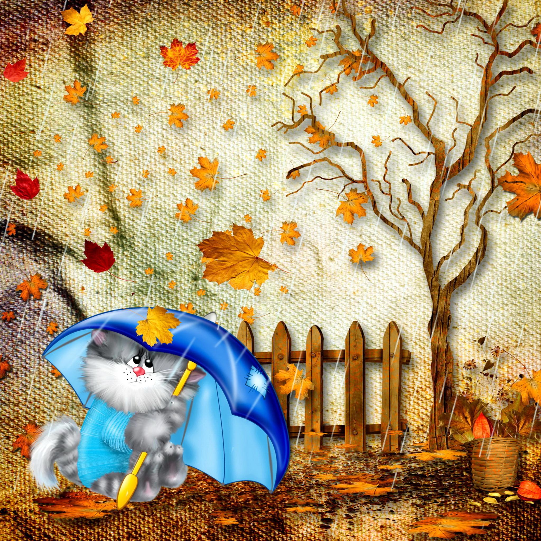 постеры дождливая осень прикольные картинки всех
