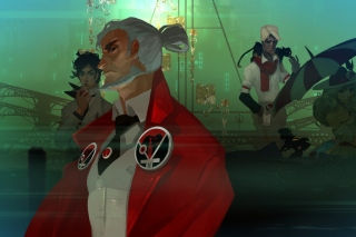 Transistor Video Game Wallpaper for Android, iPhone and iPad