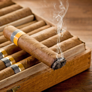 Cuban Cigar Cohiba Picture for iPad 3