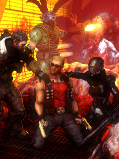 Screenshot №1 pro téma Call of Duty Dead Space Zombies 240x320
