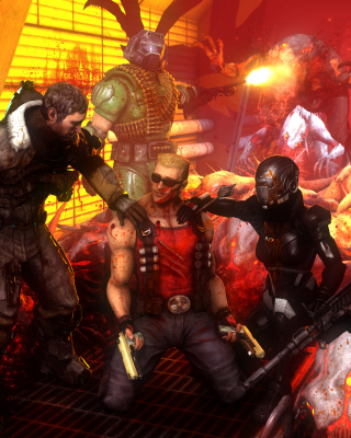 Call of Duty Dead Space Zombies sfondi gratuiti per Nokia Asha 305