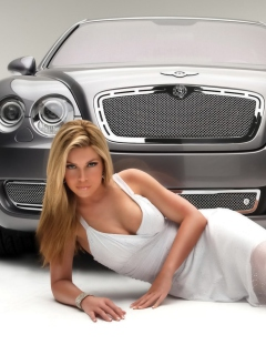 Screenshot №1 pro téma Posh Bentley Model 240x320