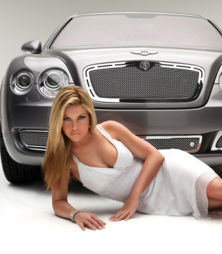 Posh Bentley Model Background for Nokia C6-01
