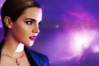 Emma Watson In Lancome Picture for Android, iPhone and iPad