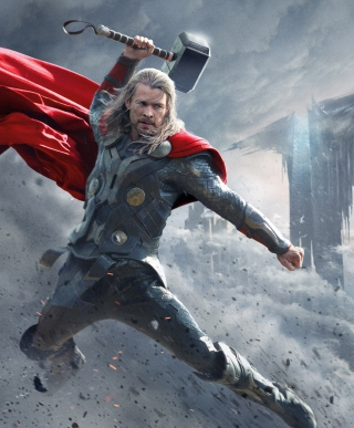 2013 Thor The Dark World papel de parede para celular para 640x960