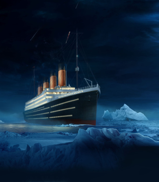 Titanic Background for HTC Titan