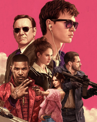 Baby Driver 2017 Film Wallpaper for 640x1136
