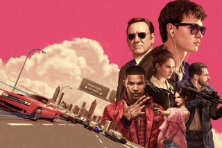 Baby Driver 2017 Film Background for HTC Desire HD