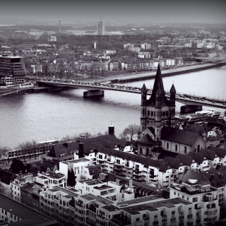 Koln View Wallpaper for 2048x2048
