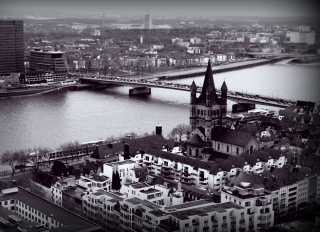 Koln View Background for Fullscreen Desktop 1400x1050