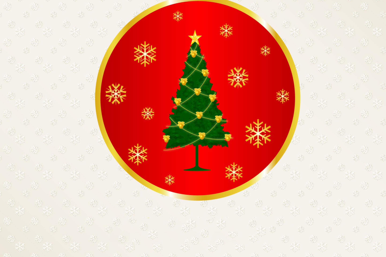 Новогодние логотипы на открытки