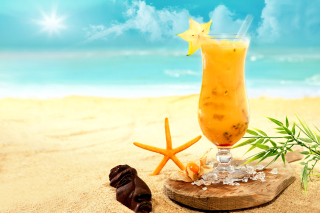 Free Carambola and Maraschino Citrus Cocktail Picture for Android, iPhone and iPad