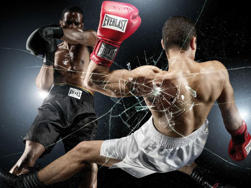 Olympic Games Boxing Wallpaper for 800x600