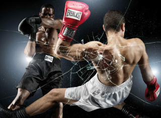 Olympic Games Boxing Background for Android, iPhone and iPad