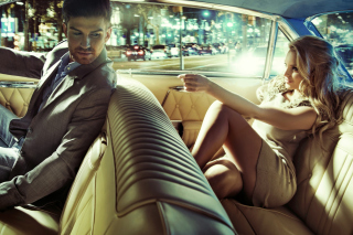 Luxury personal driver Wallpaper for Android 480x800
