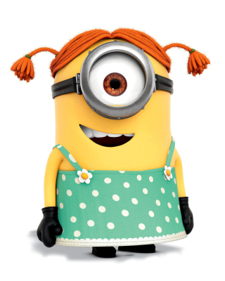 Free Minion Stuart Picture for Nokia C1-00