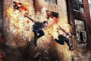 Paul Walker Brick Mansions Picture for Android, iPhone and iPad