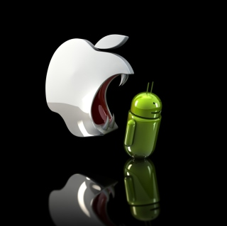 Free Apple Against Android Picture for 208x208