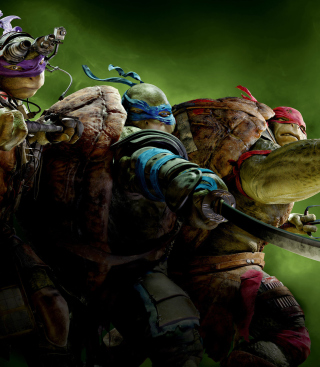 Tmnt 2014 sfondi gratuiti per iPhone 6 Plus