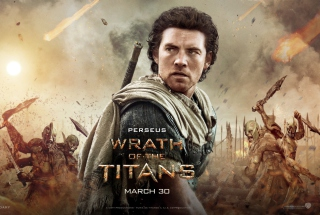 Wrath of the Titans Background for Android, iPhone and iPad