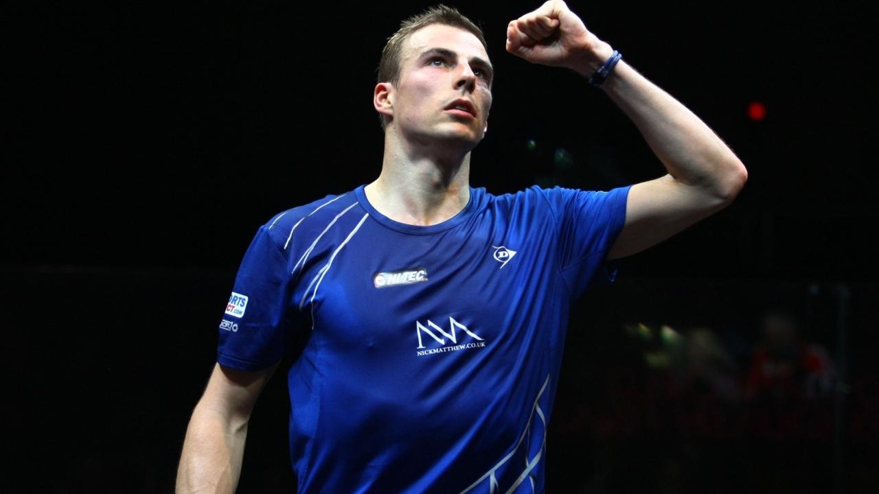 Nick Matthew - squash player