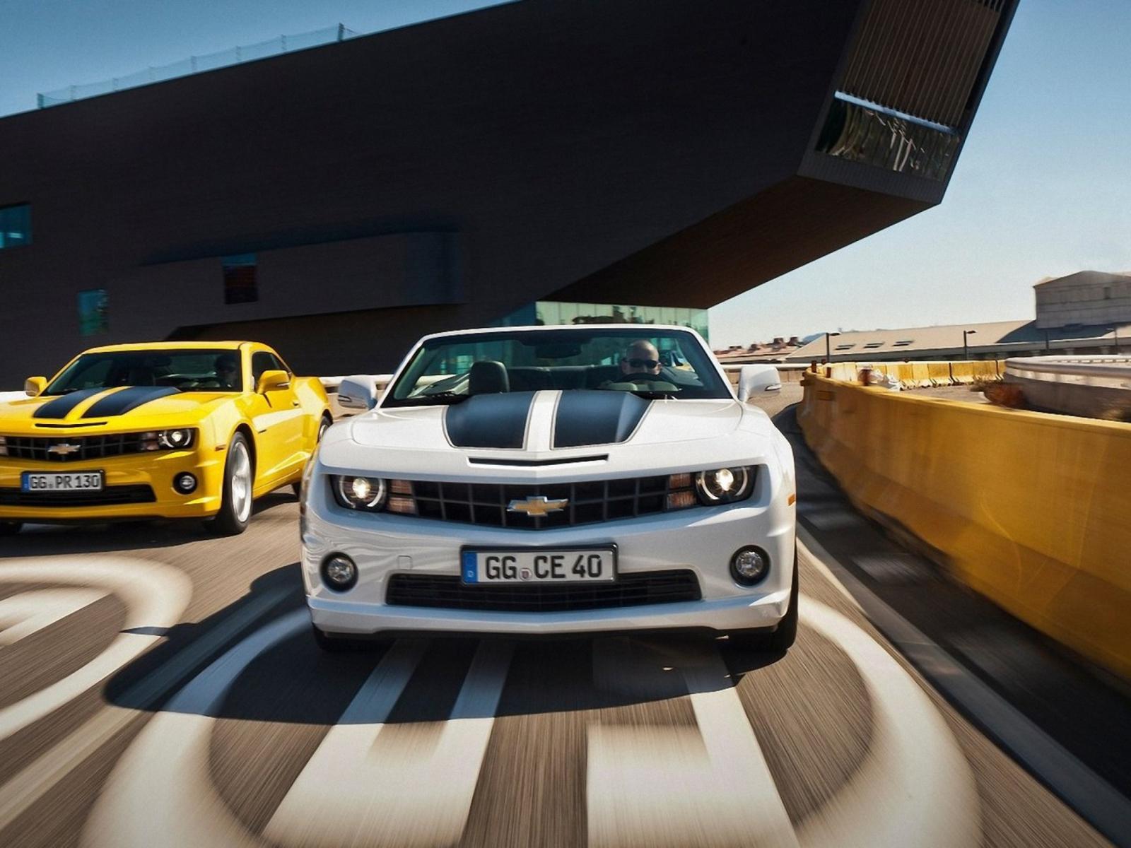 Chevrolet Camaro дорога асфальт бесплатно