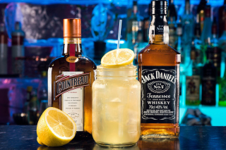 Cointreau and Jack Daniels Background for Android, iPhone and iPad