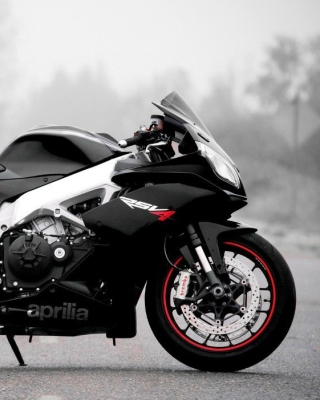 Free Aprilia RSV4 Picture for Nokia Asha 305