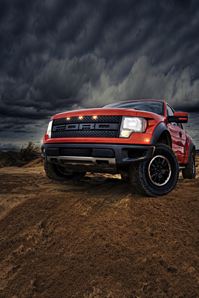 Ford F-150 SVT Raptor screenshot #1 640x960