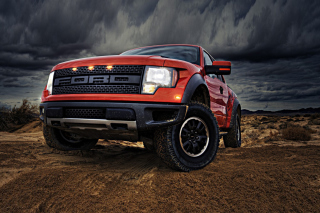 Ford F-150 SVT Raptor Wallpaper for Android, iPhone and iPad