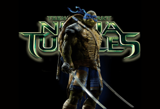 TMNT 2014 Leonardo Background for Android, iPhone and iPad