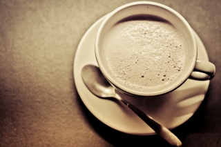 Morning Coffee Cup Wallpaper for Android, iPhone and iPad